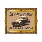 The Car Is Classic. The Driver Is Antique