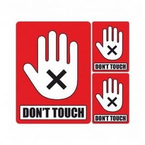 Don't Touch Set