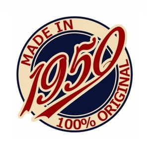 Made in 1950 - 1959