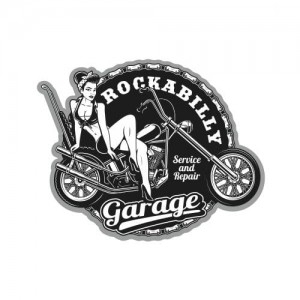 Rockabilly Garage Pin Up