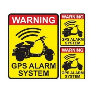 Warning GPS Alarm System